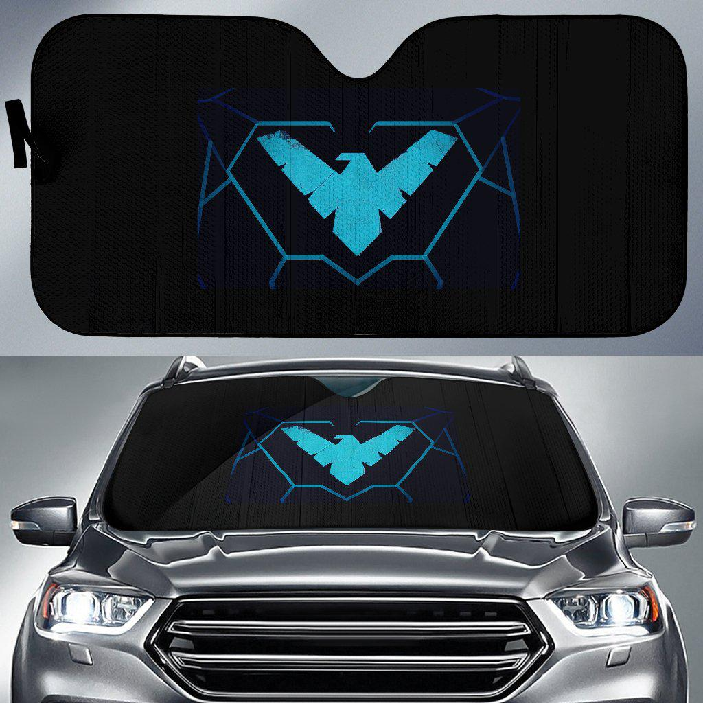 Custom Design Auto Sun Shade - Stephanie3