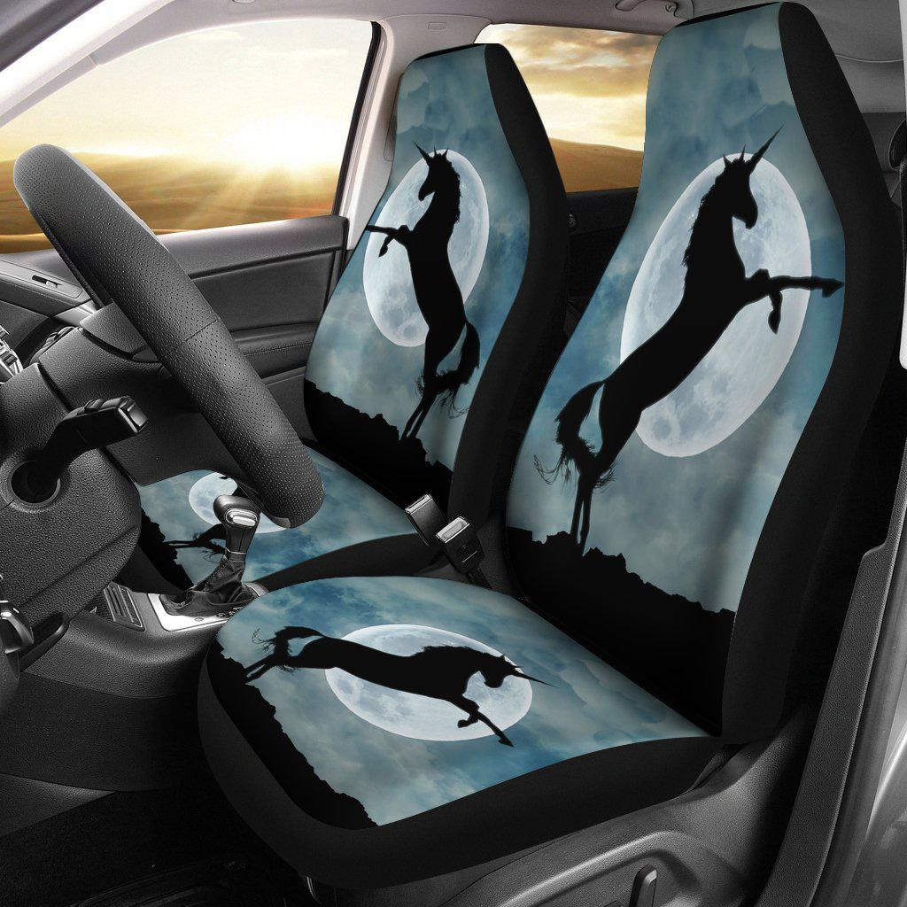 Shopeholic:Moonlight Unicorn Car Seat Covers