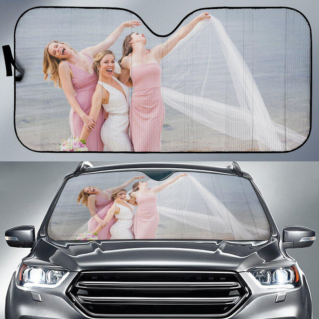 Custom Design Auto Sun Shade - Brooke