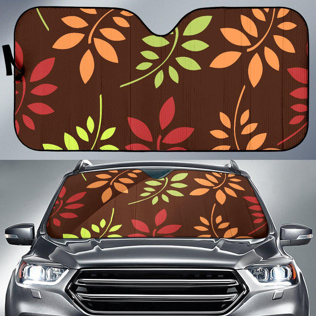 Shopeholic:Fall Fern Auto Sun Shade