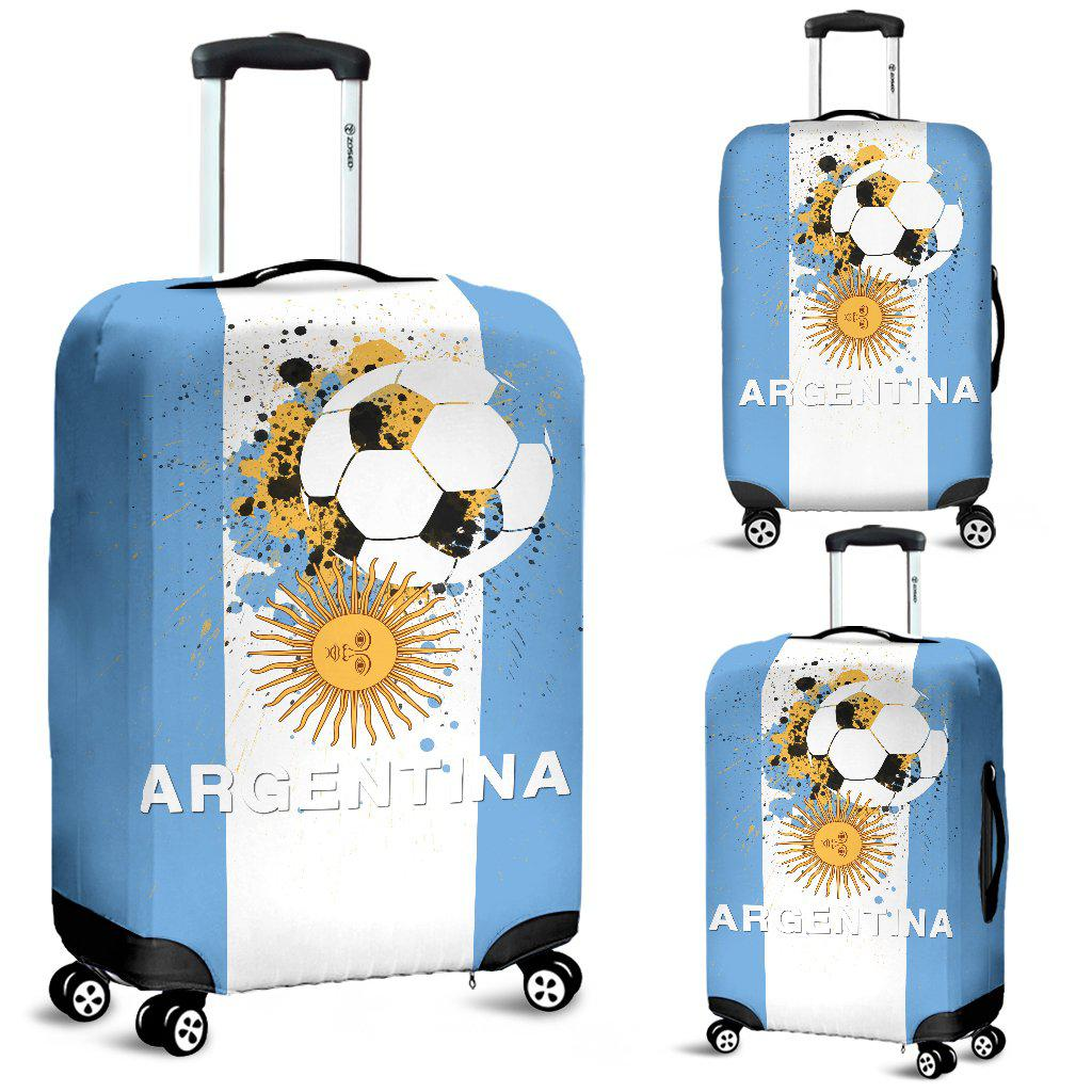 Shopeholic:Argentina Soccer Luggage Cover