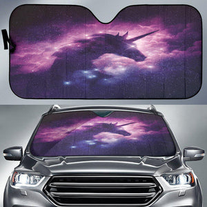 Shopeholic:Cosmic Unicorn Auto Sun Shade