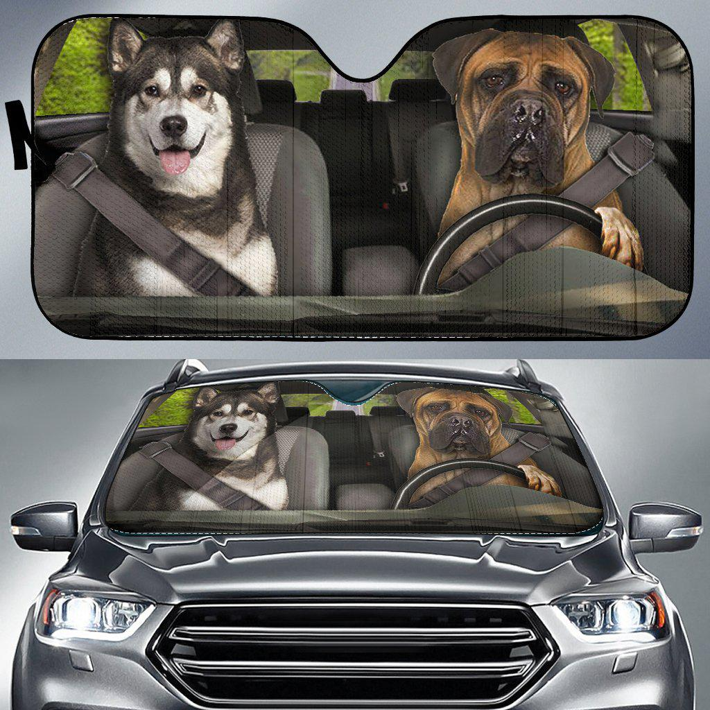 Shopeholic:Dogs 1 - Auto Sun Shade