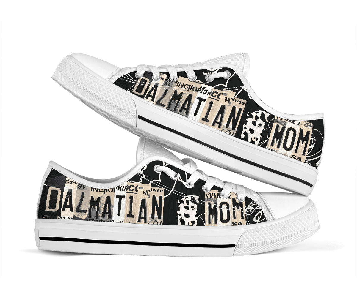 Shopeholic:Dalmatian Mom Low Top Shoes