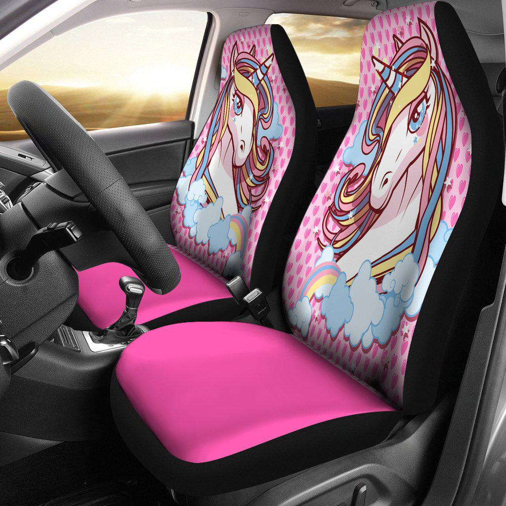 Shopeholic:Unicorn Lovers Car Seat Covers