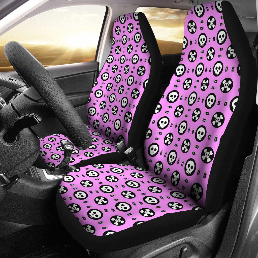 Skulls and Potion Car Seat Covers
