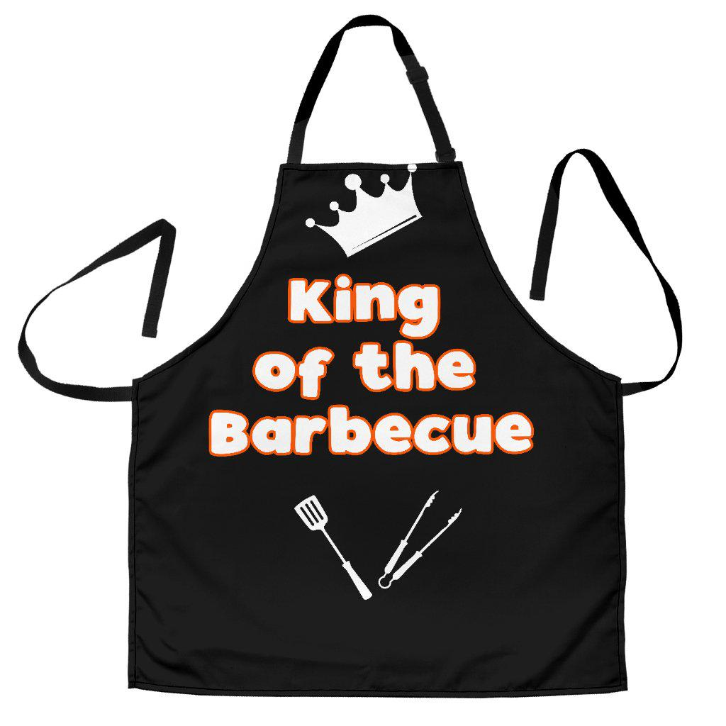 King of the Barbecue Men's Apron