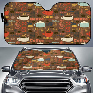 Shopeholic:Coffee Auto Sun Shade