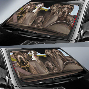 Shopeholic:Great Dane Dogs 3 - Auto Sun Shade