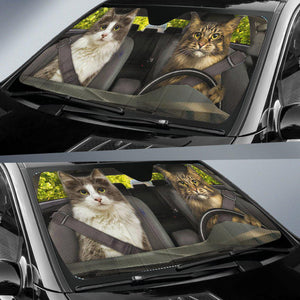 Shopeholic:Cats 1 - Auto Sun Shade