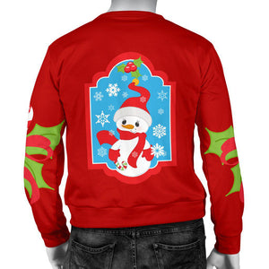 Ugly Christmas Sweater with Snowman