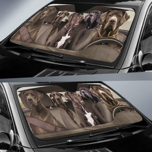 Shopeholic:Great Dane Dogs 4 - Auto Sun Shade