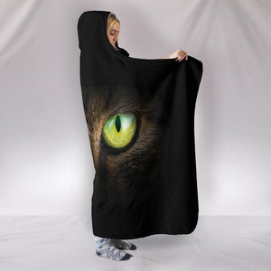 Shopeholic:Cat Eyes 01 Hooded Blanket
