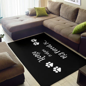 Shopeholic:Ferret Home Area Rug