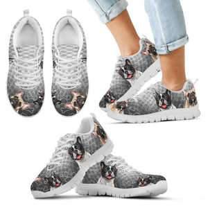 Shopeholic:FRENCH BULLDOG Kids Sneakers