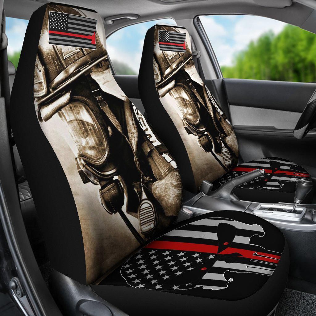Shopeholic:Firefighter Car Seat Covers 3