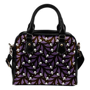 Shopeholic:Flying Skulls Shoulder Bag