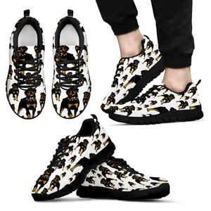 Shopeholic:Rottweilers Dog Men's Sneakers