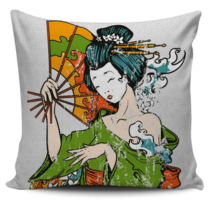 Shopeholic:Geisha  2 - Pillow Covers