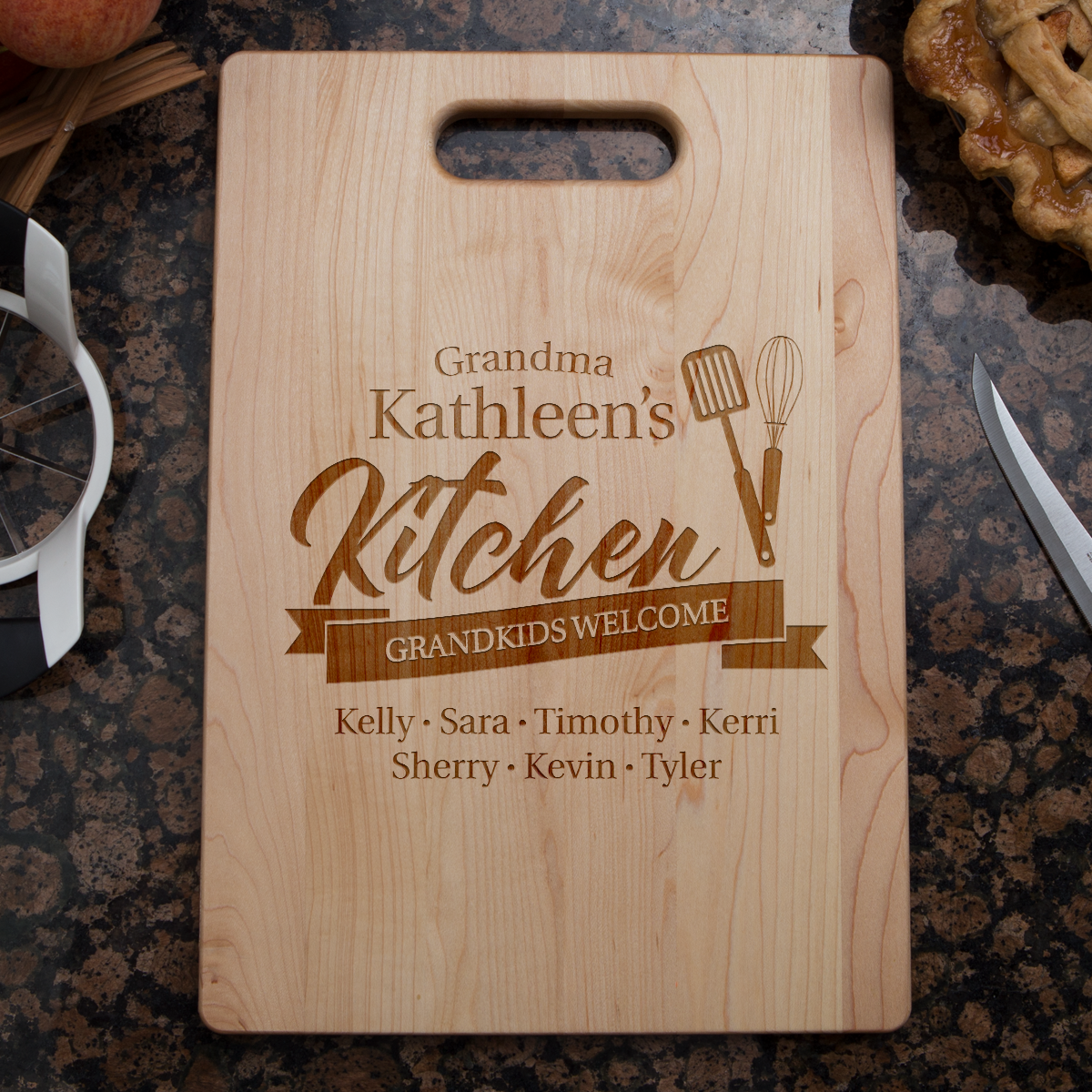 Shopeholic:Grandma's Kitchen Cutting Board