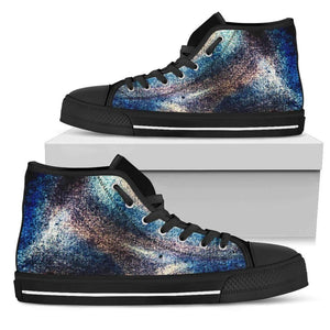 Harris - Men's High Top Canvas Shoes-Mens High Top - Black - Harris 1-PP.2565584-Shopeholic