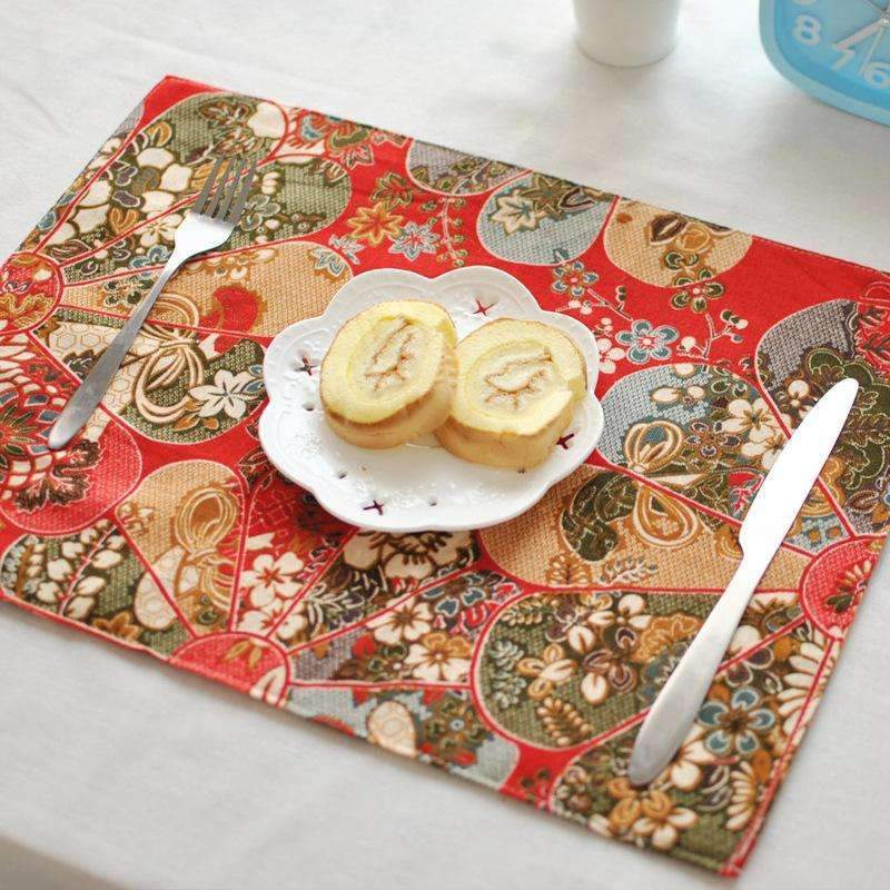 Japanese Style Table Mats-Red-7822616-red-Shopeholic