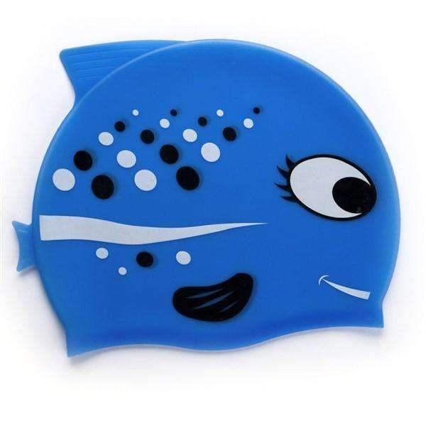 Shopeholic:Kiddie Fish Swim Cap