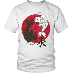 Shopeholic:Koi Fish in Ying Yang Apparels