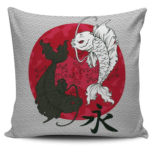 Shopeholic:Koi Ying Yang - Pillow Covers