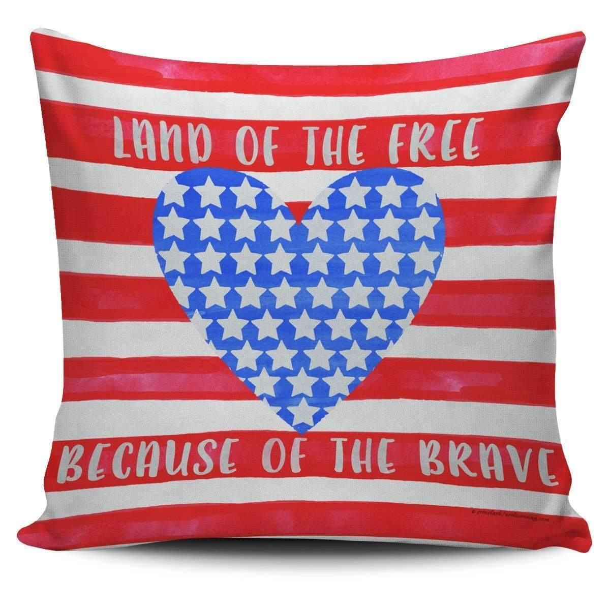 Land of the Free - Pillow Covers-Land of the Free - 1-PP.1399374-Shopeholic