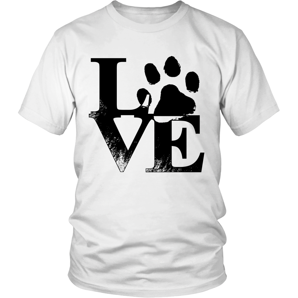 Shopeholic:Love (Dog Paw Print) Apparels