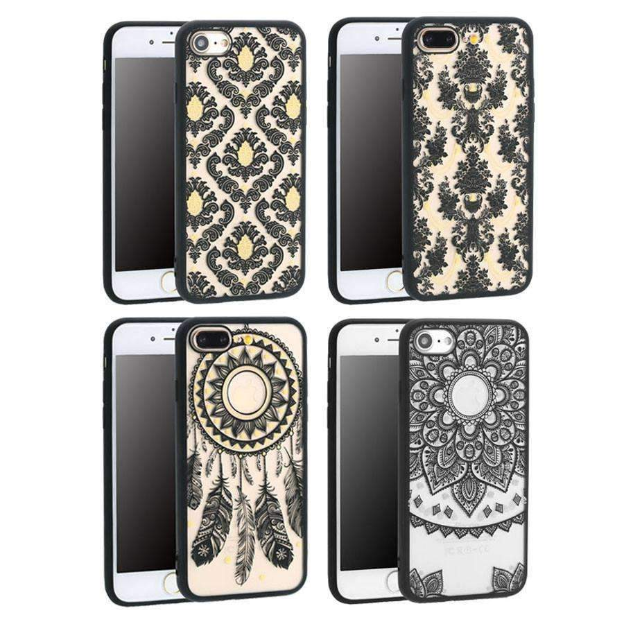 Mandala Cases For iPhone Models-Shopeholic