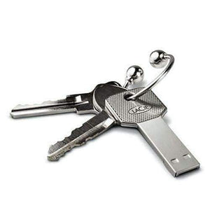 Shopeholic:Metal Key USB Flash Drive