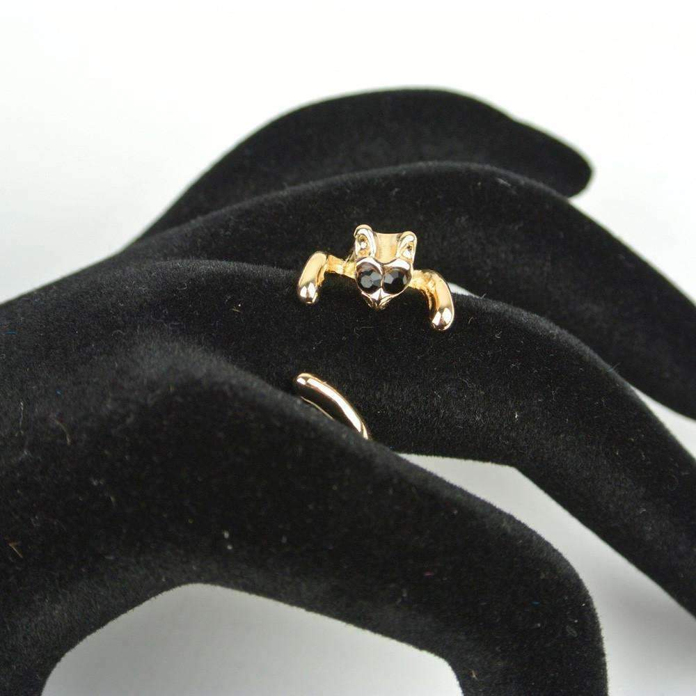 Shopeholic:Missy Cat Wrap Ring