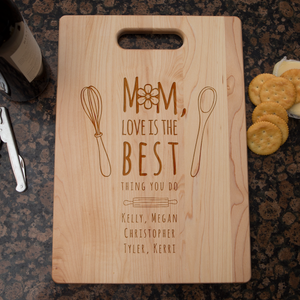 Shopeholic:Mom Love Is The Best Cutting Board