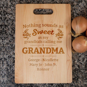 Shopeholic:Nothing Sounds As Sweet Cutting Board