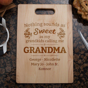 Nothing Sounds As Sweet Cutting Board-Shopeholic