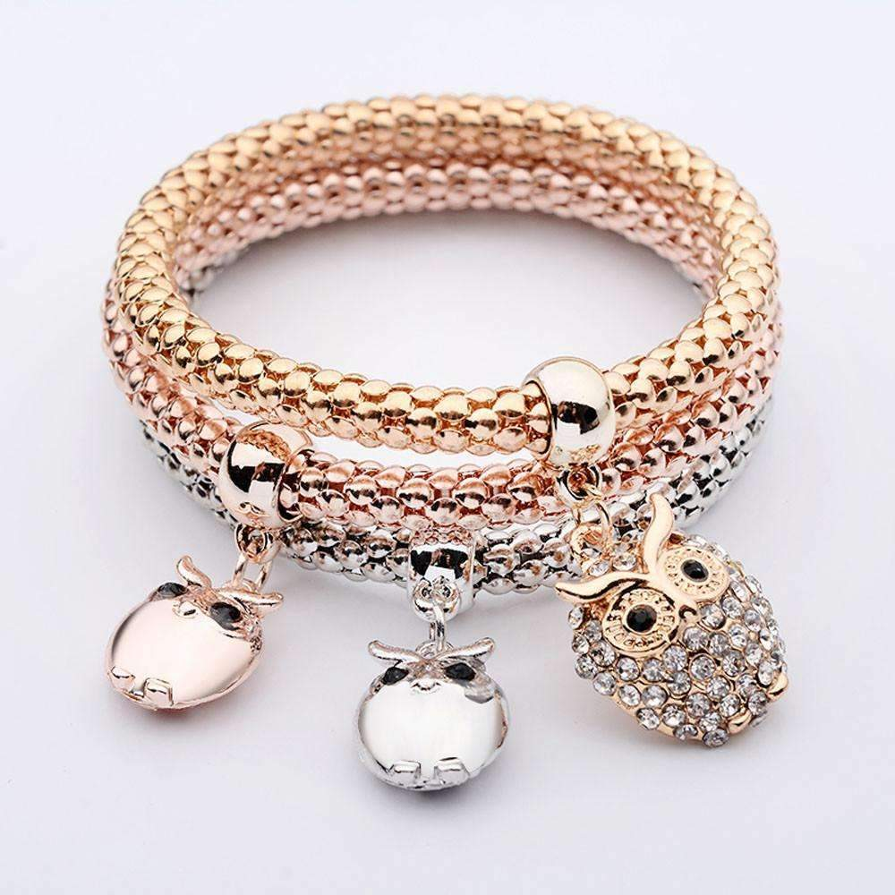 Owl Pendants Multilayer Bracelets-ZLY60910787-Shopeholic