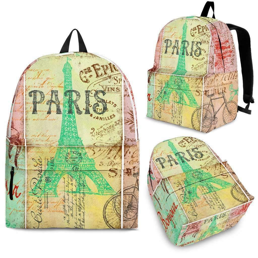 Paris 2 Backpack-Shopeholic