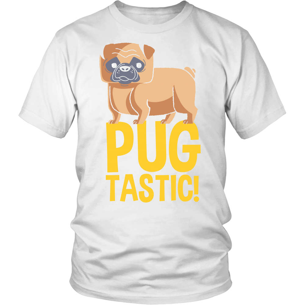 Pugtastic Apparels-District Unisex Shirt-DT6000-Shopeholic