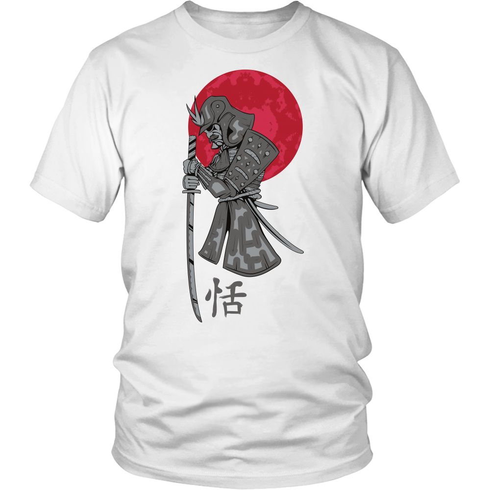 Samurai and Red Sun Apparels-District Unisex Shirt-DT6000-Shopeholic