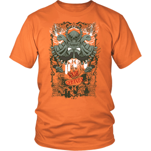 Samurai Helmet Apparels-District Unisex Shirt-DT6000-Shopeholic