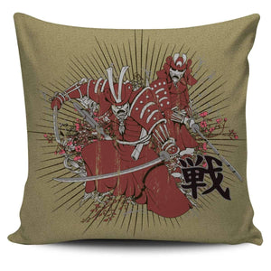 Shopeholic:Samurais - Pillow Covers