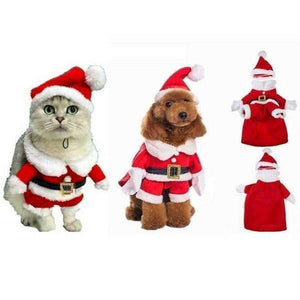 Shopeholic:Santa Claus Pet Costume