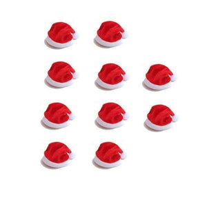Santa Hat Cutlery Holders - 10pcs-Shopeholic