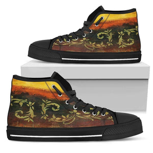 Santiago - Men's High Top Canvas Shoes-Mens High Top - Black - Santiago 1-PP.2549014-Shopeholic
