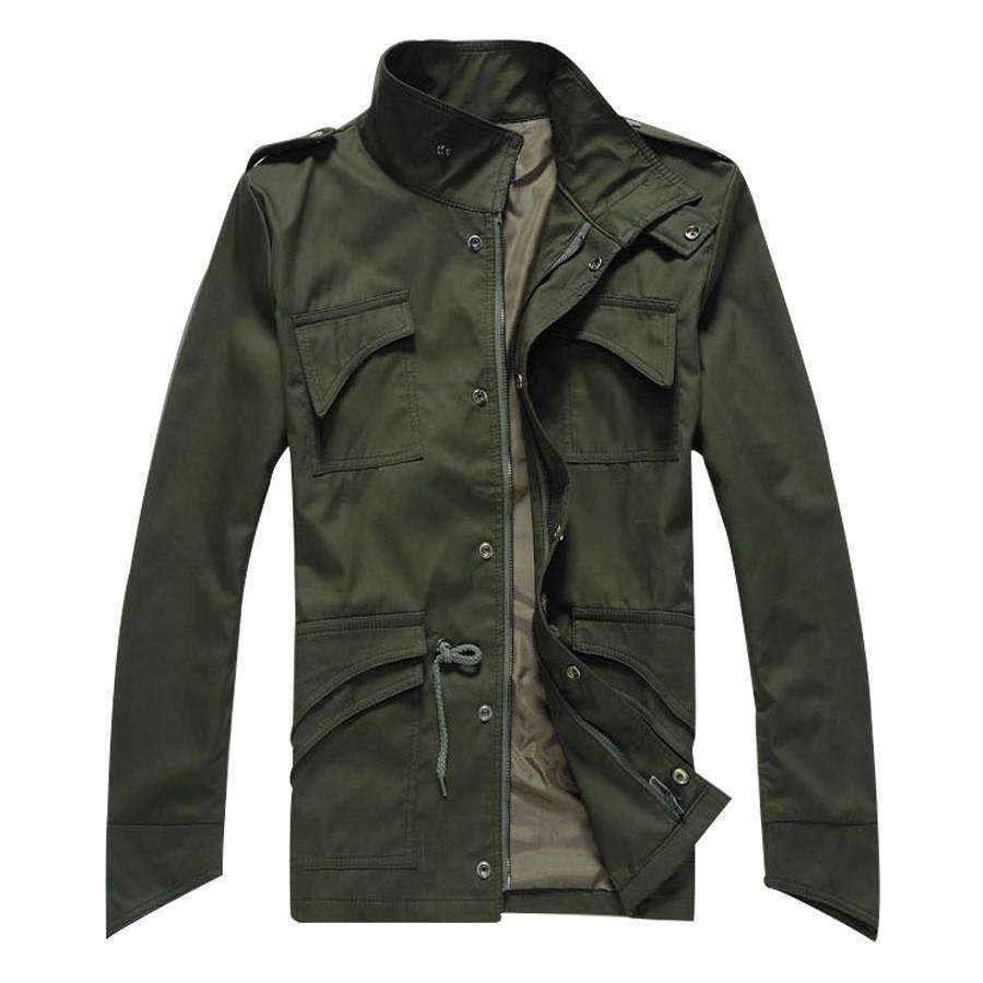 Sean Jackets-Army Green-MC80192I6-Shopeholic