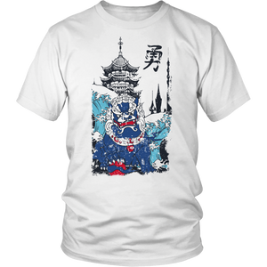 Shishi and a Pagoda Apparels-District Unisex Shirt-DT6000-Shopeholic