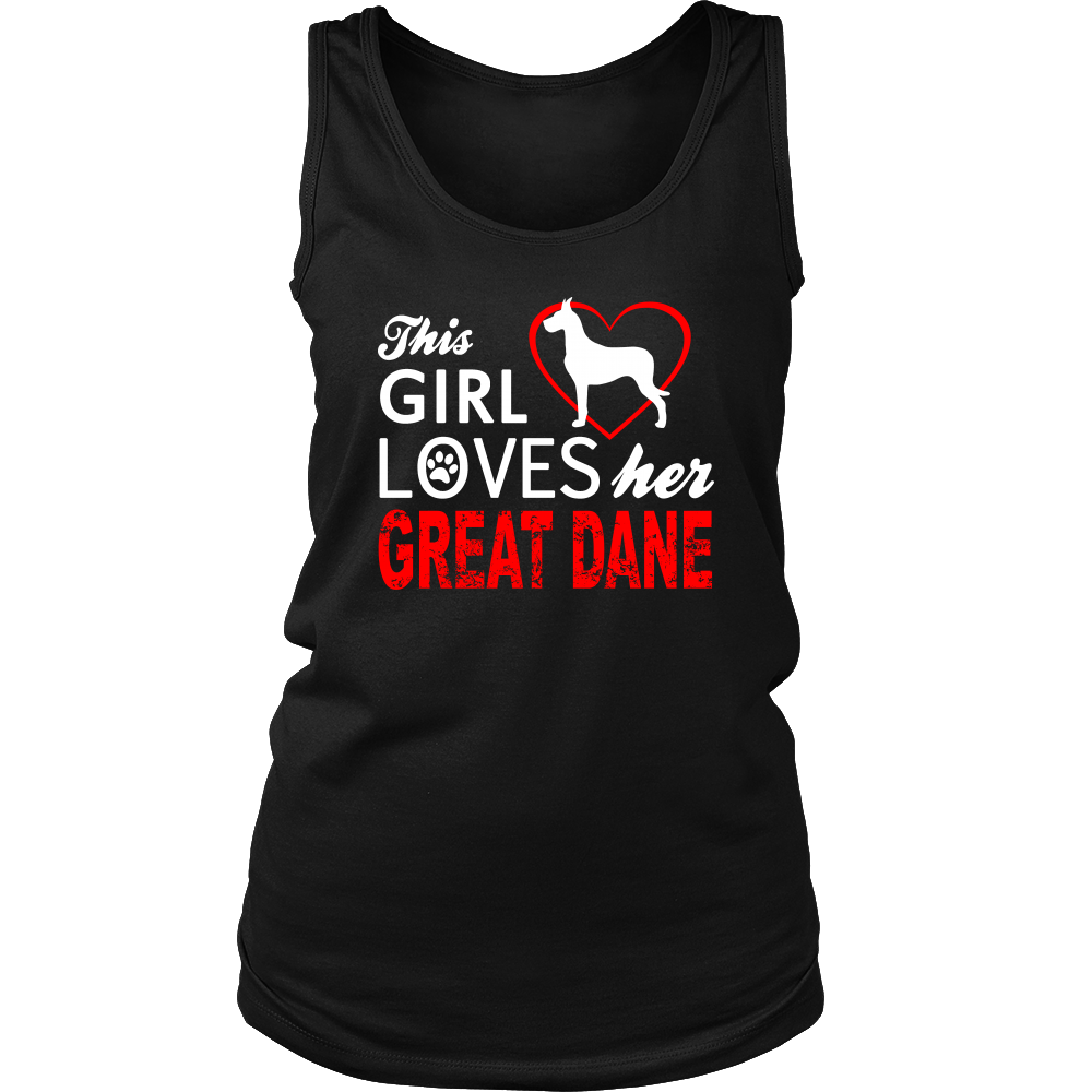 This Girl Loves Her Great Dane Apparels-District Womens Tank-DT5301-Shopeholic