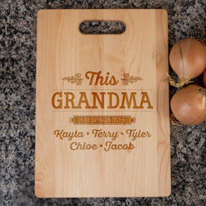 Shopeholic:This Grandma Cutting Board